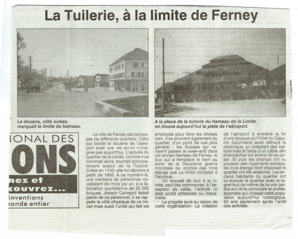 La Limite, 26 avril 2002, le Pays Gessien (collection Muller)