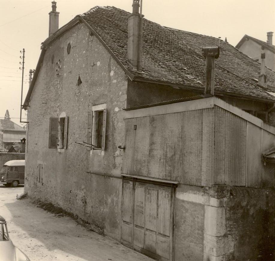 Maison Dunand, rue de Versoix