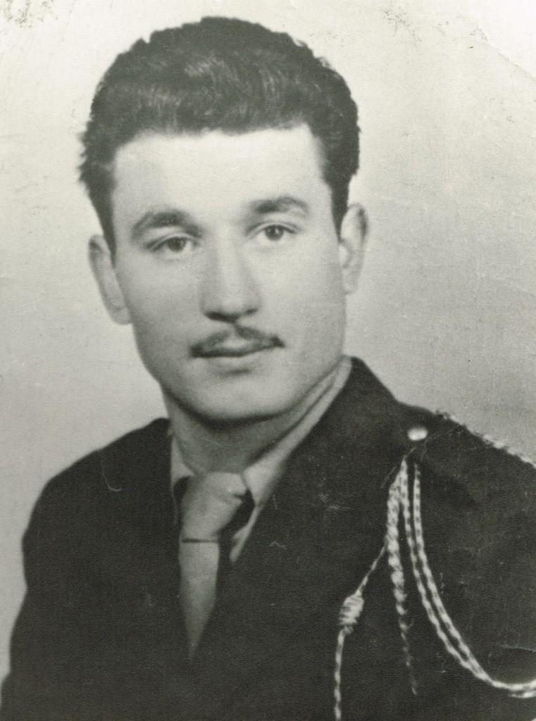 CANET, Lucien, Jacques (1935 – 1958). Sergent au 25e BCA. Mort pour la France à l'âge de 23 ans le 14 septembre 1958 à Lamy (Algérie). (GHE005)