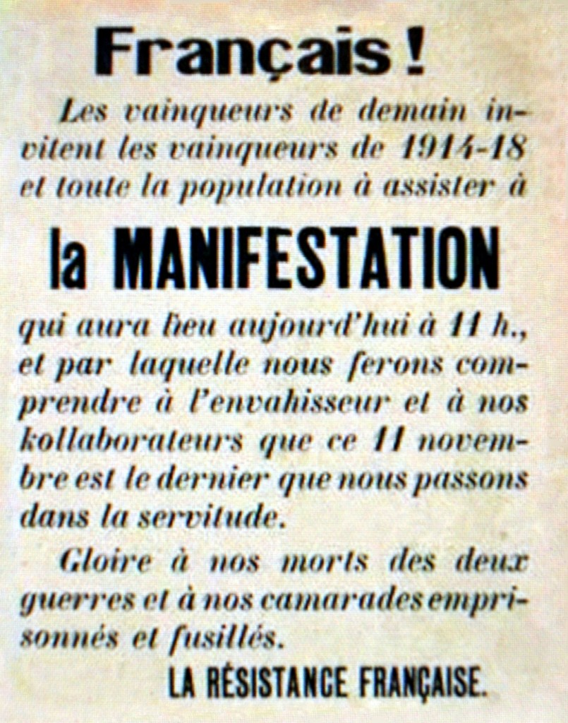 p8a2 19431111 Oyonnax afficheMM 30cm