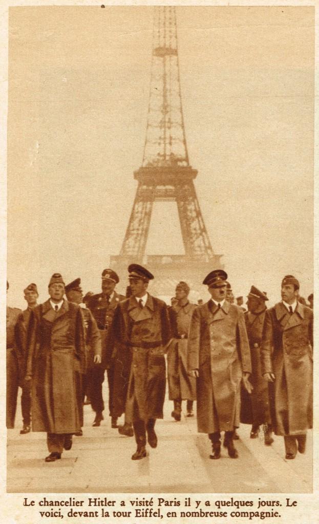 p0Ca2 FSA105e Hitler Paris Juin 1940 30cm