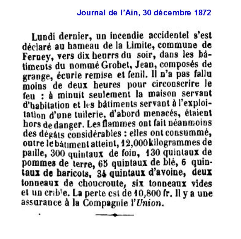 18721230 Incendie à Ferney