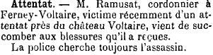 Journal de Genève, 7 mars 1901