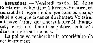 Journal de Genève, 17 mars 1901
