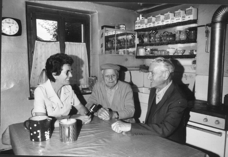 Deux potiers ferneysiens, Camille Fournier et Hermann Philipps, interviewls par Anne-Marie Prodon. ME10