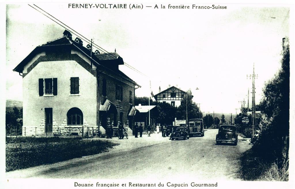 Douane française et Capucin gourmand, après guerre.