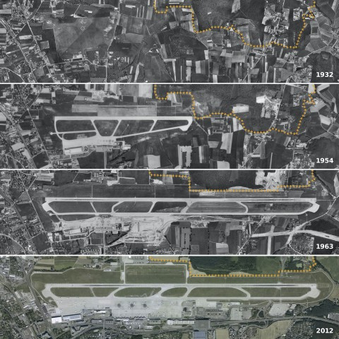 Da GVA 019 Aéroport Evolution 1932 2012